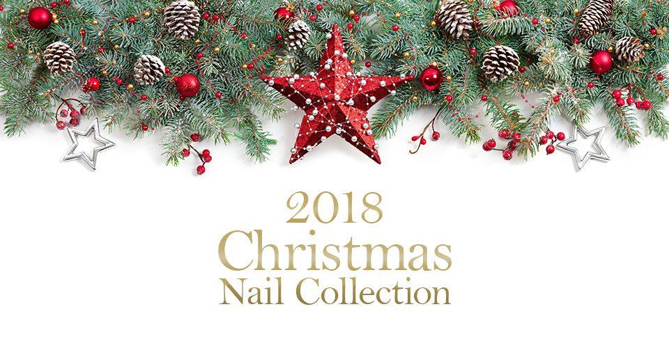 2018クリスマスネイル